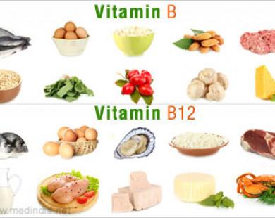 Vai trò của các vitamin B trong cơ thể