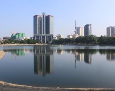 Hồ Thành Công có thể bị lấp để xây nhà tái định cư