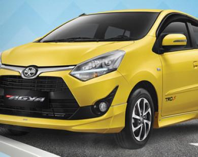 Toyota bất ngờ ra lò xe giá rẻ Agya chỉ 224 triệu đồng