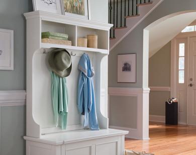 Gợi ý mẫu giá treo đẹp ở phòng khách