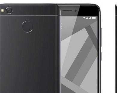 """Xiaomi Redmi 4X lên kệ với pin """"trâu"""", giá rẻ"""