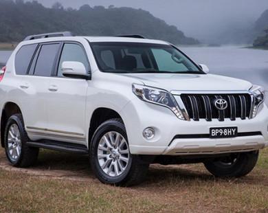 Toyota Prado bản đặc biệt tiện nghi hơn hẳn phiên bản tiêu chuẩn