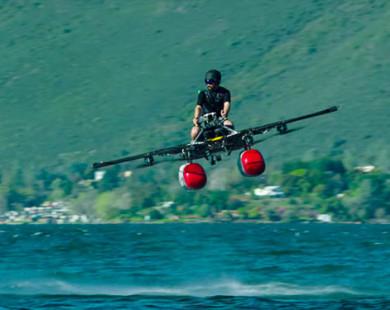 """""""Xe bay"""" của đồng sáng lập Google trình làng"""
