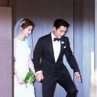 Tài tử 'Nữ hoàng Seon Deok' Joo Sang Wook hạnh phúc trong đám cưới