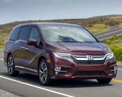 Honda Odyssey 2018 giá 701 triệu đồng phục vụ gia đình