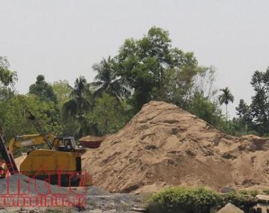 Giá cát xây dựng tăng gấp 3, TP Hồ Chí Minh 'cầu cứu' các tỉnh