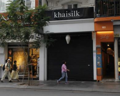 """Truy cứu trách nhiệm hình sự vụ Khaisilk bán lụa """"Made in China"""""""