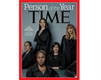Time vinh danh 'Những người phá vỡ im lặng' là Nhân vật của năm 2017
