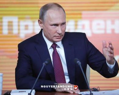 Tổng thống Putin tuyên bố tranh cử độc lập