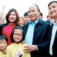 Thủ tướng về thăm mô hình công viên môi trường xanh của công ty TNHH Tân Thiên Phú