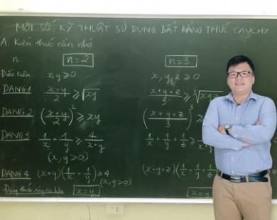 Thầy Lê Hải Trung bí quyết giúp các em yếu kém toán lấy lại tự tin và đạt điểm cao về môn toán
