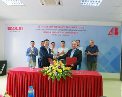 BẢO LAI GROUP và AN BIÊN GROUP ký kết hợp đồng hợp tác chiến lược.