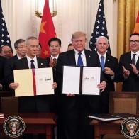 Mỹ - Trung ký thoả thuận thương mại giai đoạn 1