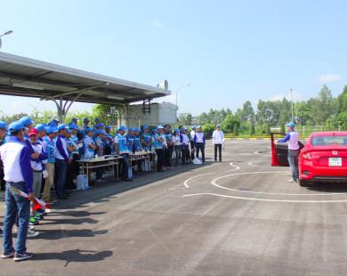 Honda Ô Tô Tây Hồ tổ chức chương trình đào tạo lái xe an toàn 2018