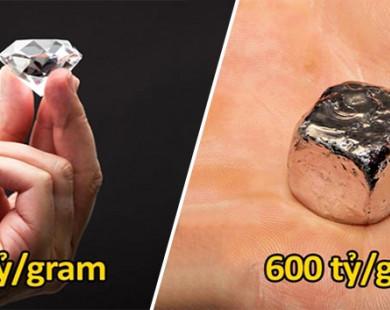 12 chất đắt nhất hành tinh, nghìn tỷ chưa mua nổi.. 1 gram
